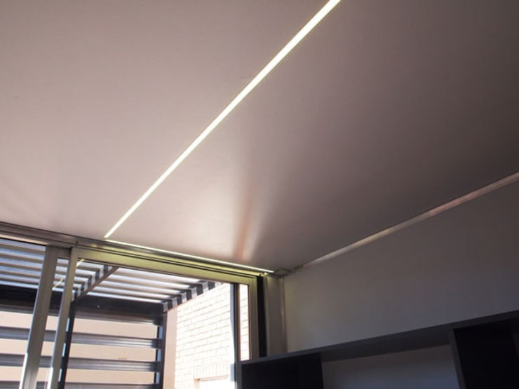 LED lighting:  Living room by A4AC Architects