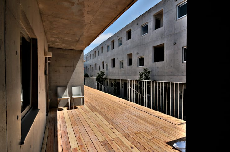 株式会社長野聖二建築設計處의  정원