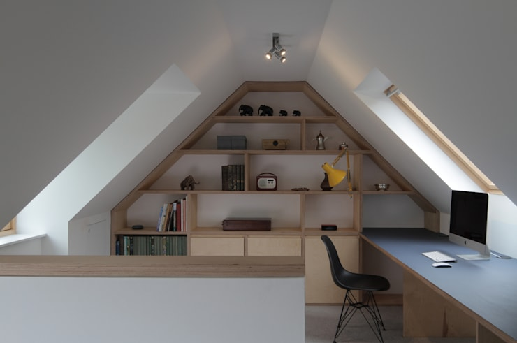 Study/office by ABN7 Architects, Modern