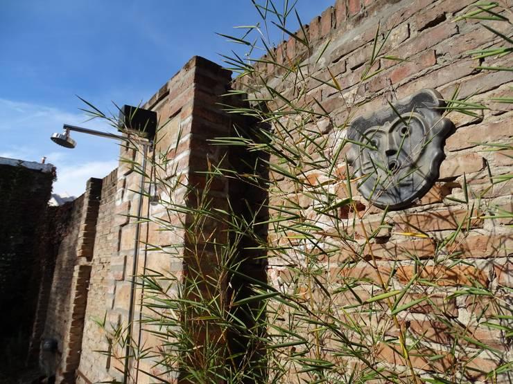 Casa MP: Jardines de estilo  por Prece Arquitectura