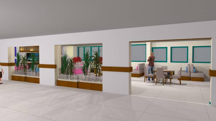 Erca Yapı Müh. Mim. Dan. Ltd. Şti. – Necif Fazıl Şehir Hastanesi:  tarz Hastaneler, Modern