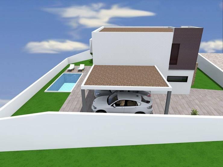 Vivenda Unifamilar <q>JM</q>: Casas  por Traço M - Arquitectura