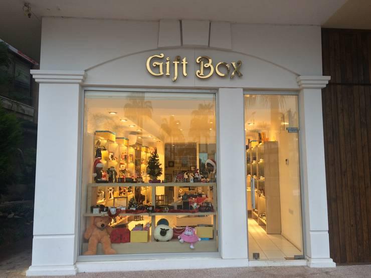 YASEMİN ALTINOK MİMARLIK – Gift Box Hediyelik Eşya Mağazası:  tarz , Akdeniz