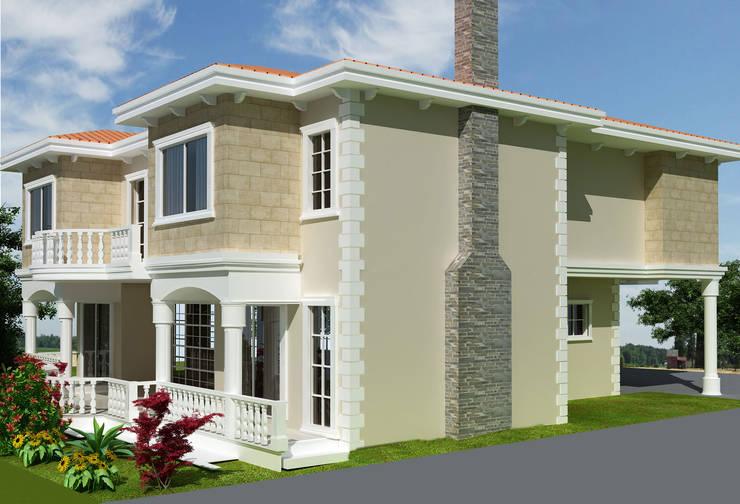 YASEMİN ALTINOK MİMARLIK – Tarsus Villa Projesi:  tarz