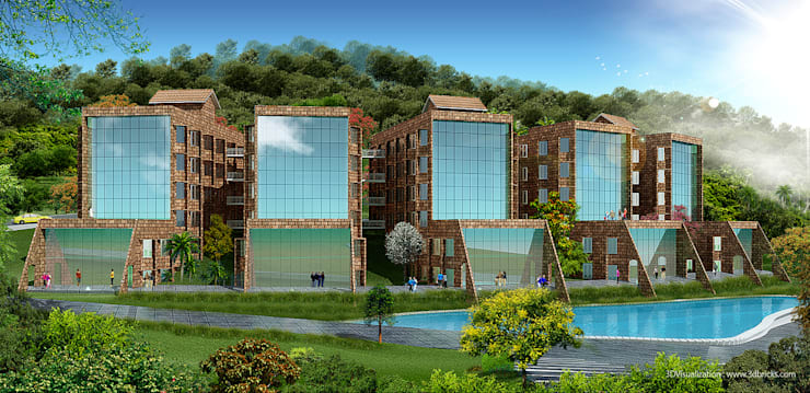 Head Office Building for LPSC (Indian Space Research Organisation - ISRO):   by Vastushilpalaya Consultancy Pvt. Ltd.