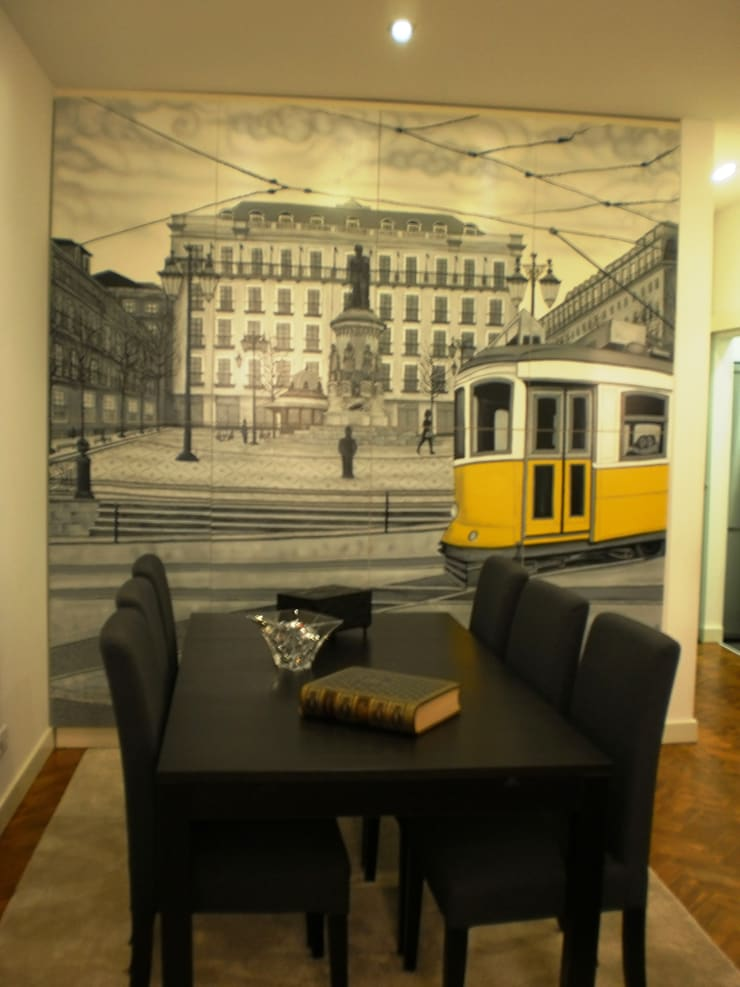 Enquadramento do trabalho com a Sala: Sala de jantar  por Atelier Dream Project