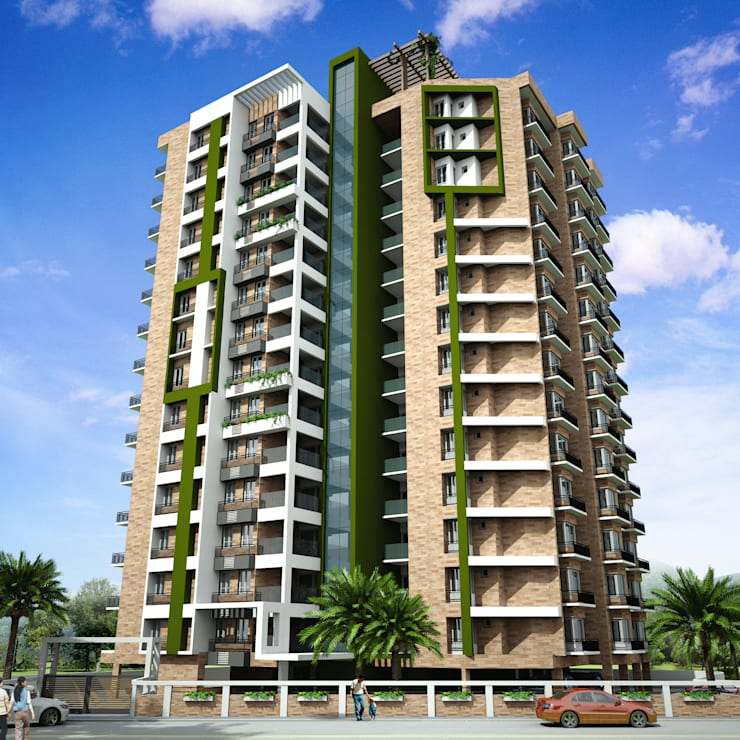 "Keystone Apartments for Prime Property Developers at Kowdiar, Trivandrum: {:asian=>""asian"", :classic=>""classic"", :colonial=>""colonial"", :country=>""country"", :eclectic=>""eclectic"", :industrial=>""industrial"", :mediterranean=>""mediterranean"", :minimalist=>""minimalist"", :modern=>""modern"", :rustic=>""rustic"", :scandinavian=>""scandinavian"", :tropical=>""tropical""}  by Vastushilpalaya Consultancy Pvt. Ltd.,"