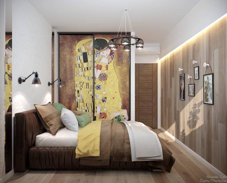 Студия интерьерного дизайна happy.design의  침실