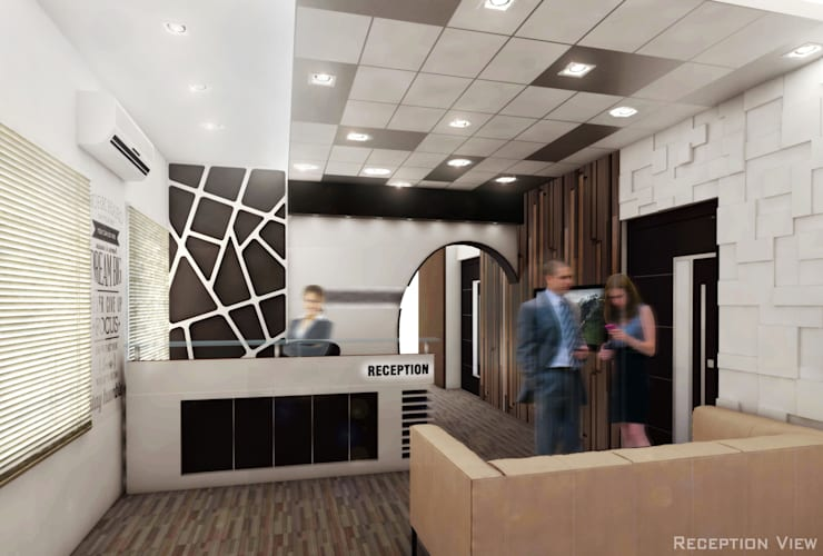 Reception:   by Izza Architects & Interior designers