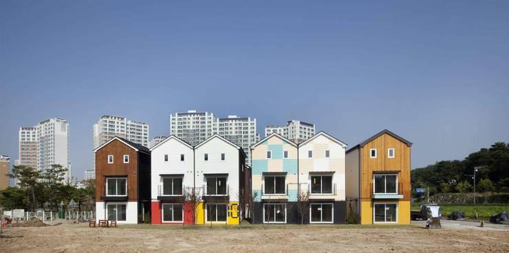 Houses by 스투디오 테이크