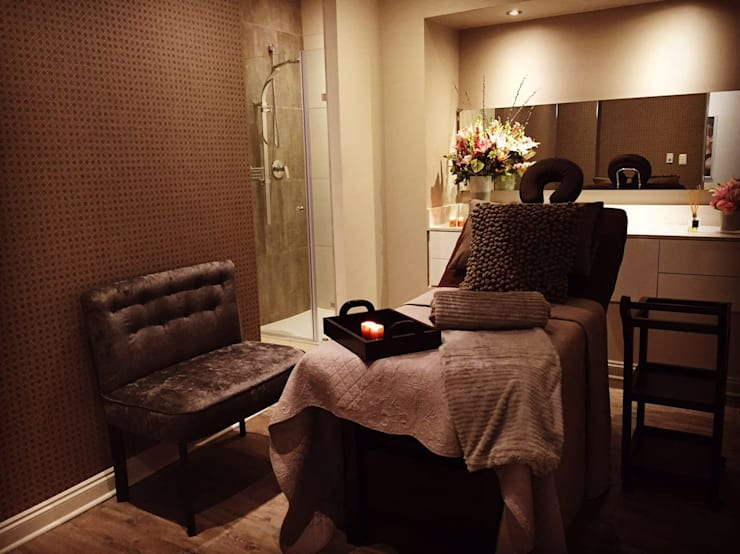 Treatment Room:  Spa by GSI Interior Design & Manufacture