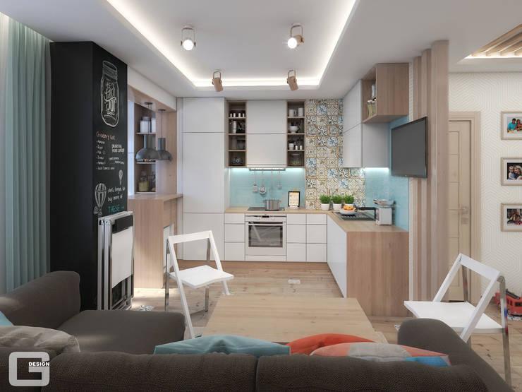 Скандинавское настроение: Кухни в . Автор – Giovani Design Studio