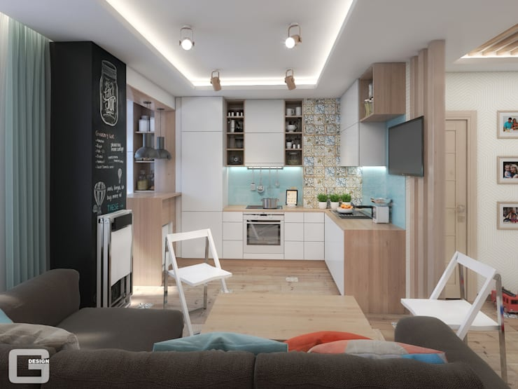 Kitchen by Giovani Design Studio
