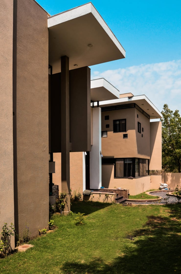 Residence For Mr. Soni:  Houses by Maulik Vyas Architects,Modern