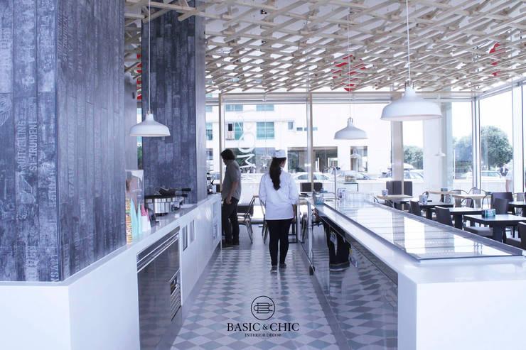 Contract: Espaços de restauração  por Basic & Chic