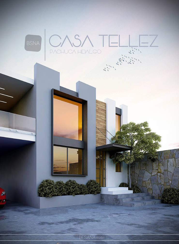 Remodelación/ampliación: Casas de estilo  por Besana Studio