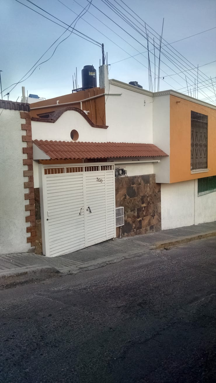 Remodelación Centro Historico Pachuca: Casas de estilo  por Besana Studio