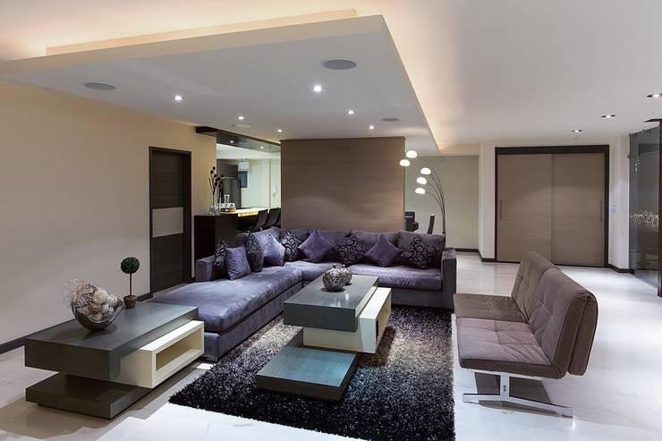 Interiorismo y diseño de mobiliario.: Salas de estilo  por Besana Studio