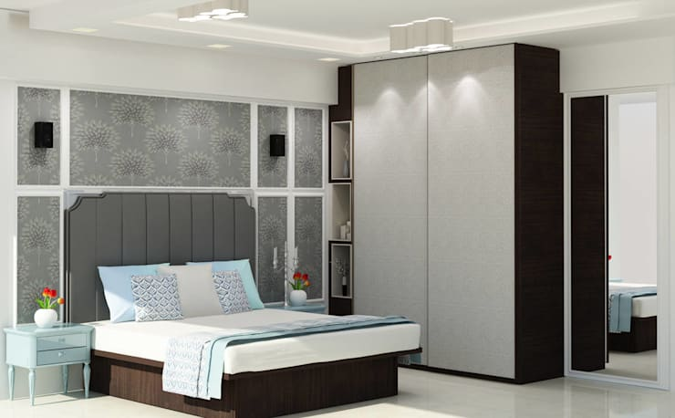 Residential - Agarwal:  Bedroom by Nestopia