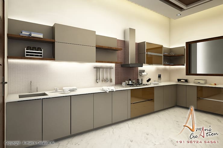 Kitchen by A Mans Creation