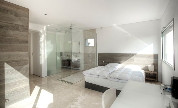 Bedroom by MG&AG.ARQUITECTOS