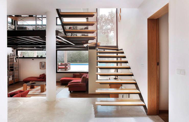 Pasillos y recibidores de estilo  por MG&AG.ARQUITECTOS