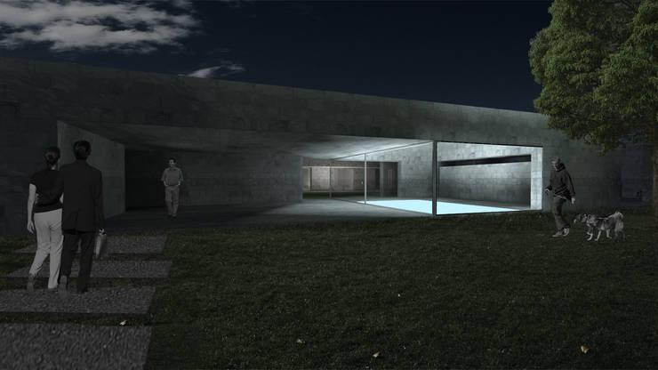 Casa Lamego: Casas  por Lousinha Arquitectos