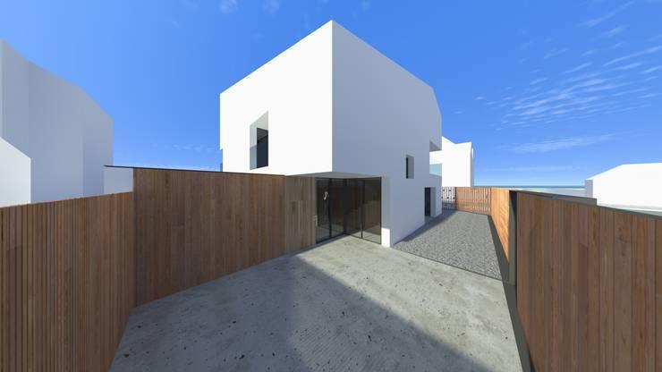 Casa Fonte: Casas  por Lousinha Arquitectos