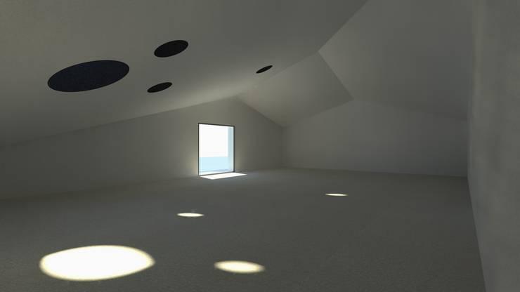 Casa Fonte: Salas de estar  por Lousinha Arquitectos