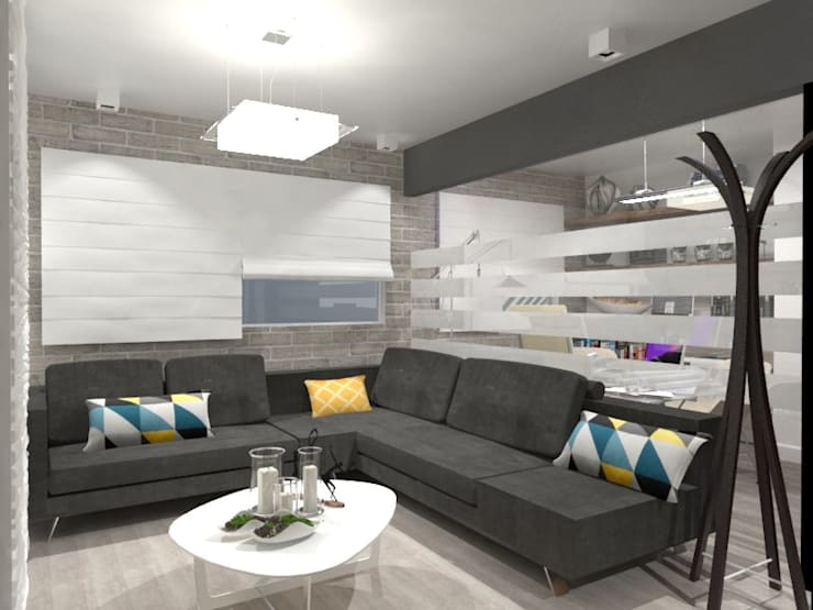 SALA: Salas de estilo  por AurEa 34 -Arquitectura tu Espacio-