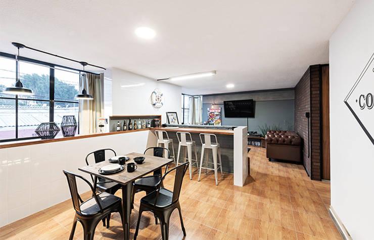 غرفة السفرة تنفيذ MX Taller de Arquitectura & Diseño