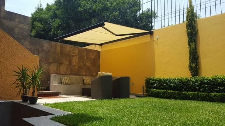 Projekty,  Balkon, weranda i taras zaprojektowane przez GAVIOTA MEXICO