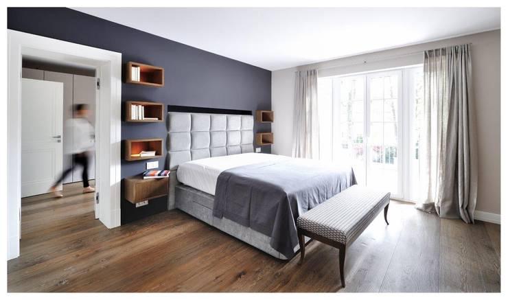غرفة نوم تنفيذ Heerwagen Design Consulting