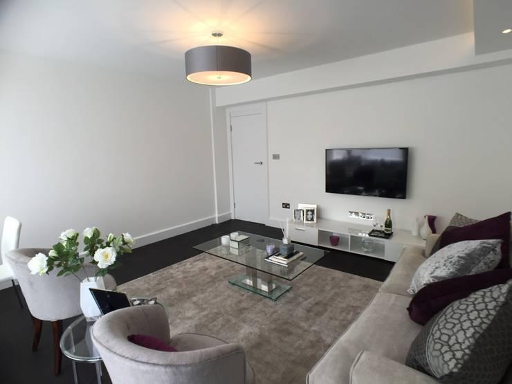 Living room by Progressive Design London