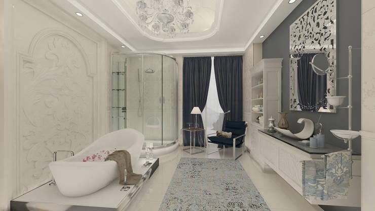 Altuncu İç Mimari Dekorasyon – Riva villa kişiye özel banyo :  tarz Banyo, Modern