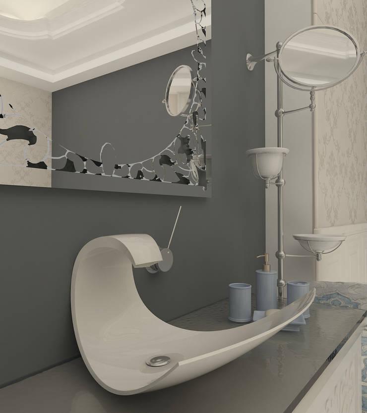 Altuncu İç Mimari Dekorasyon – Riva villa kişiye özel banyo:  tarz Banyo, Modern Seramik