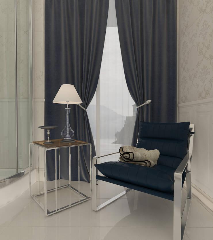 Altuncu İç Mimari Dekorasyon – Riva villa kişiye özel banyo:  tarz Banyo, Modern Ahşap Ahşap rengi
