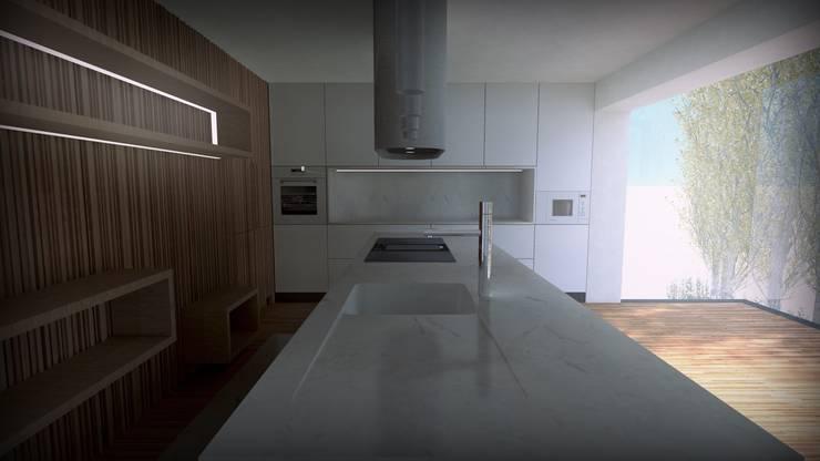 Projecto Cozinha : Cozinhas  por Lousinha Arquitectos