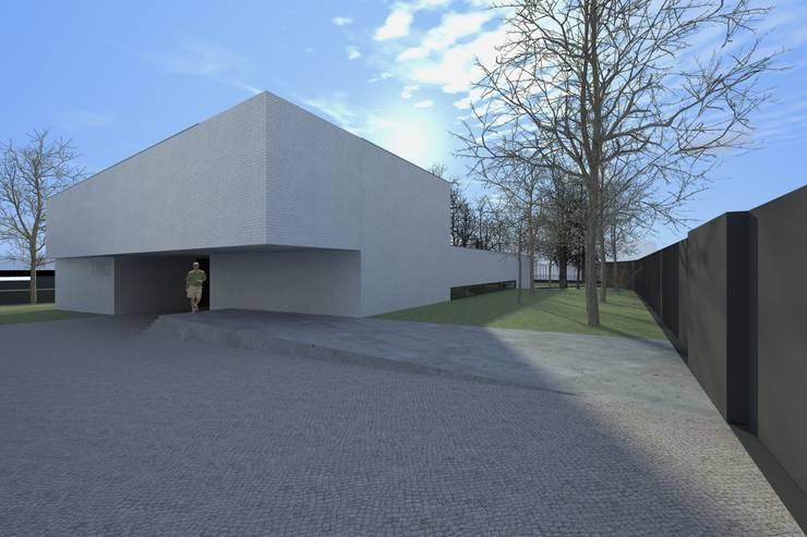 Casa Águeda: Casas  por Lousinha Arquitectos