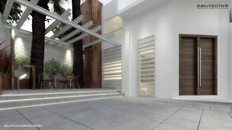 CASA MAGALLANES: Casas de estilo  por arquitecto9.com