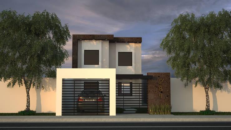Casa Toledo :  de estilo  por Proyecta Studio