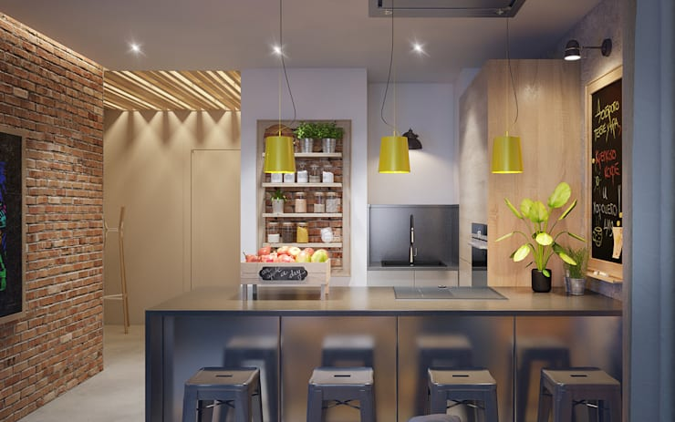 Kitchen by Natalia Solo Design