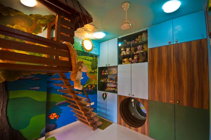 tree house:  Nursery/kid's room by iSTUDIO Architecture