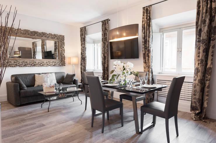 Projekty,  Jadalnia zaprojektowane przez Loredana Vingelli Home Decor