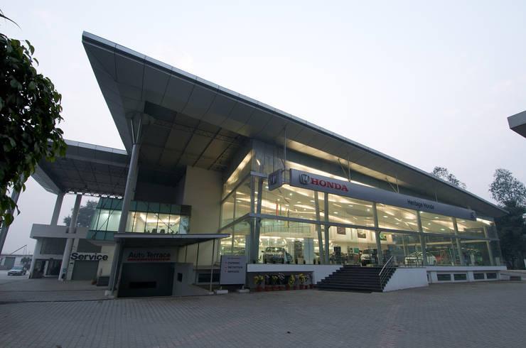 Heritage Honda, Bareilly:  Car Dealerships by INFINITY ,Modern Aluminium/Zinc