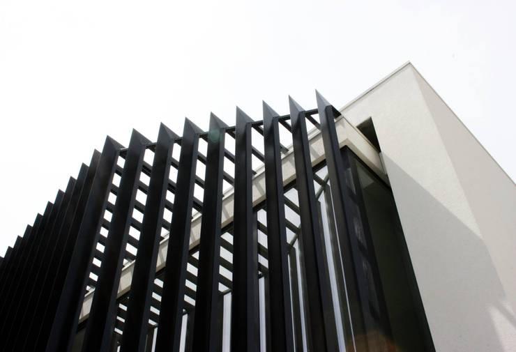 Pormenor da máscara de fachada:   por Arq. Duarte Carvalho