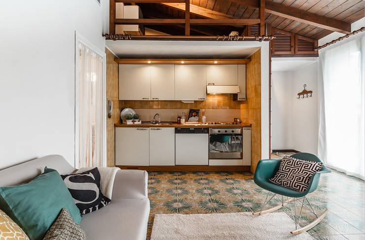 Projekty,  Kuchnia zaprojektowane przez Boite Maison