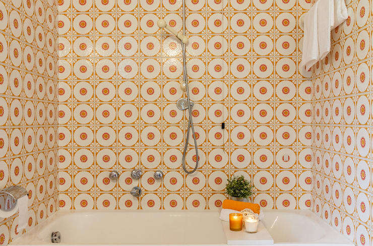 Baños de estilo moderno por Boite Maison