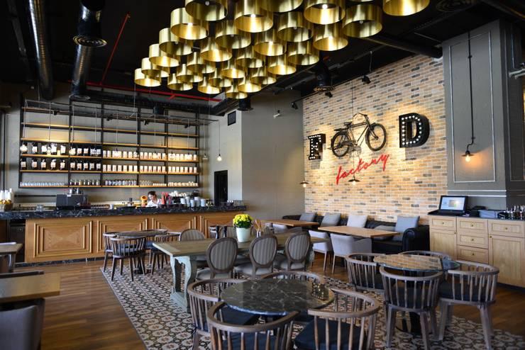 W DESIGN İÇ MİMARLIK – Cafe Home Food Factory / Franchise / Özlüce - Bursa:  tarz Yeme & İçme