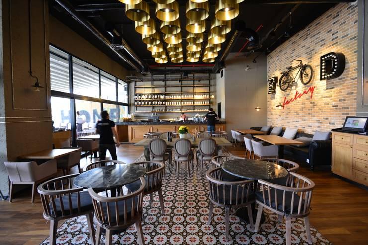 W DESIGN İÇ MİMARLIK – Cafe Home Food Factory / Franchise / Özlüce – Bursa:  tarz Yeme & İçme